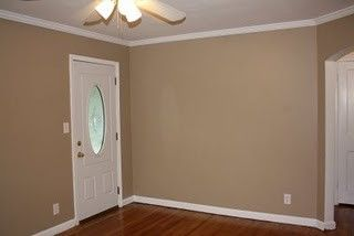 Behr Paint from Home Depot, Brown Teepee