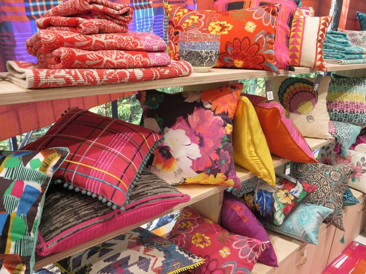 Cushions display #3