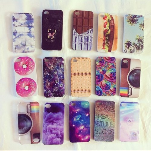 looove them all except the instagram-cameraish ones and the hamburger one.