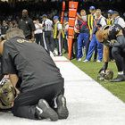 Although this photo is from Sunday night's Saints vs. Cowboys football game, I missed it while editing for deadline at the Superdome. Nola.com | The Times-Picayune staff photographer David Grunfeld found it while going through his shoot and put it into the gallery of game images that we post each week...