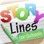 StoryLines for Schools - a great app for generating creativity as well as vocabulary for students