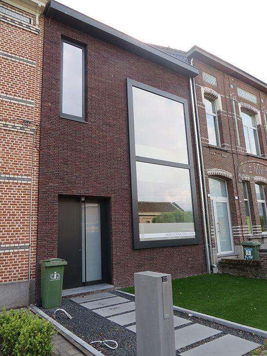 17 beste idee n over rood dak op pinterest vrijstaande garage buiten huisstijlkleuren en huis - Decoratie exterieur gevel ...