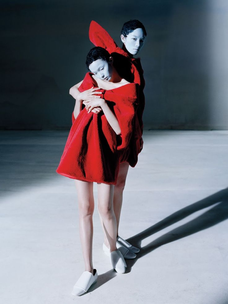 xiao wen ju, fei fei sun and sang woo kim by tim walker for vogue china december 2014
