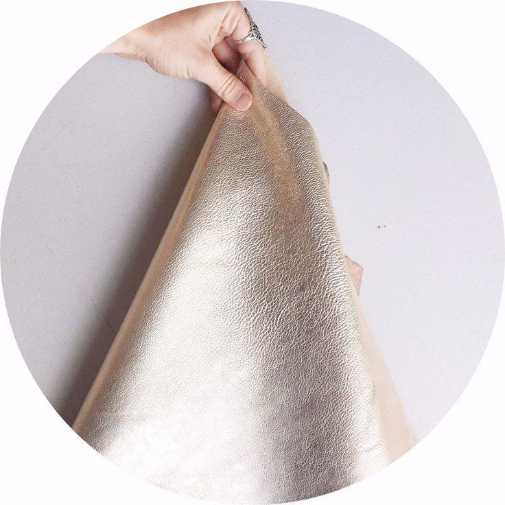 White Gold Kid Leather | East Coast Leather, wholesale leather supplies Australia