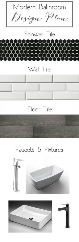 Top 25 best modern bathroom tile ideas on pinterest modern bathroom modern bathrooms and - Modern bathroom decorations ...