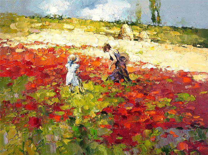 Alexi Zaitsev - 1959 - Russian impressionist