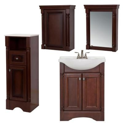 St Paul Valencia Bath Suite With 25 In Vanity With