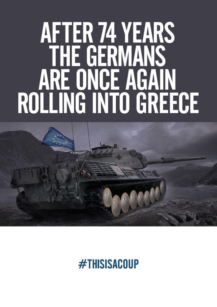 Greece under attack