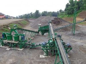 Crushing Plant 50 TPH / 36 m3/jam