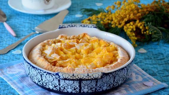 Шарлотка с яблоками и апельсином, пошаговый рецепт с фото