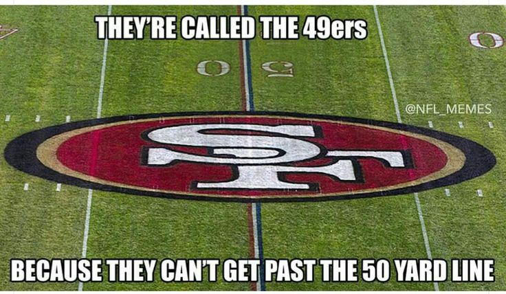 and who doesn't love another Niner joke