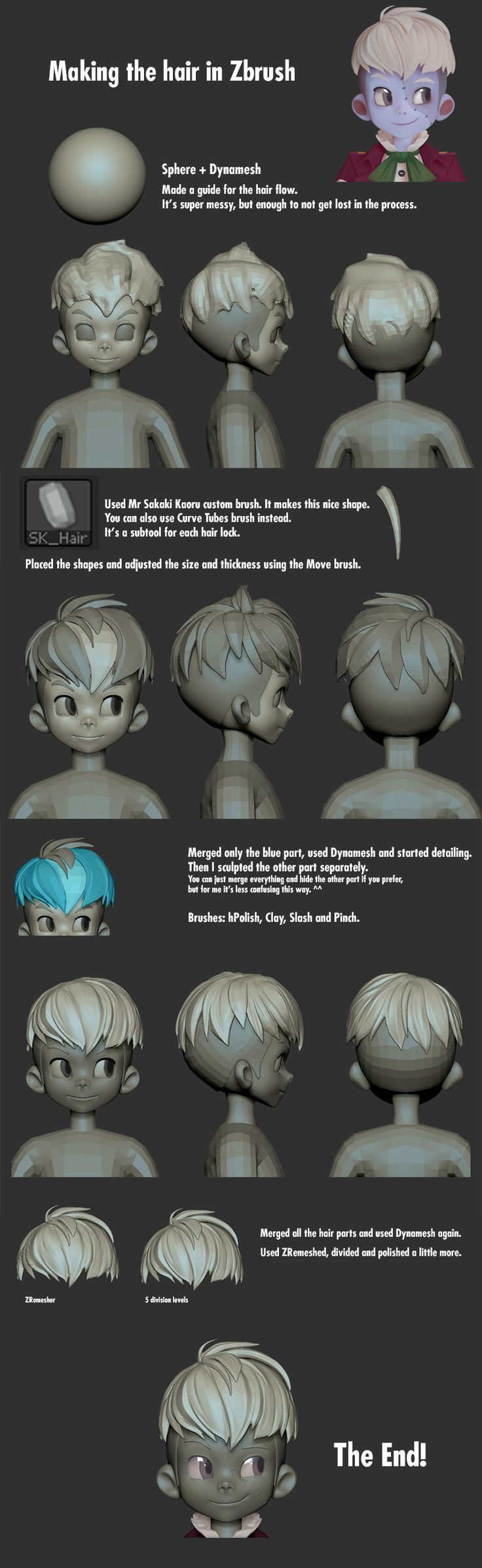Sculp based on Hong SoonSang adorable character Qura~! You can see his work here: www.artstation.com/artist/soonsanghong54