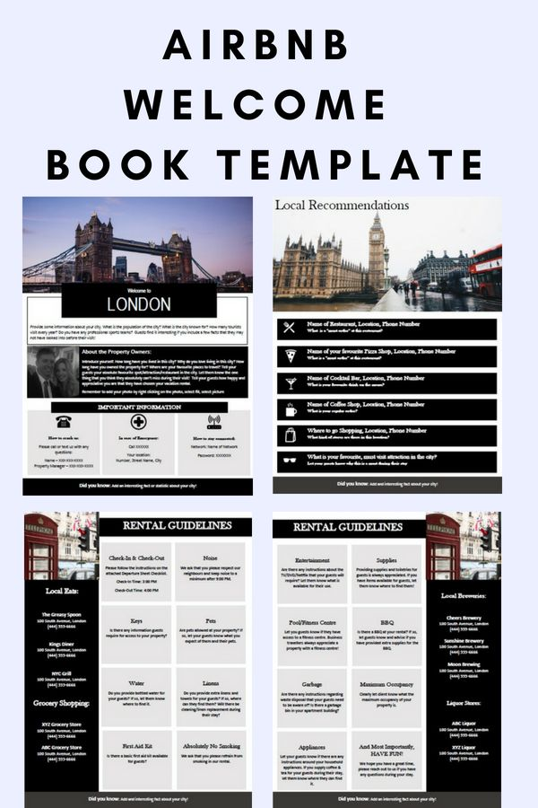 london - welcome book - england - guest book