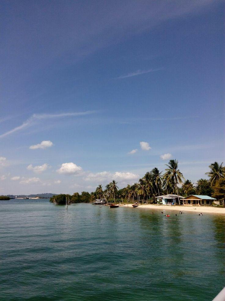 Take a rest in a private island
