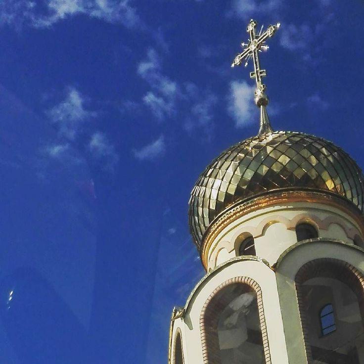 Wracając z USG #cerkiew #siedlce #skyisthelimit #sky #smartography #smartphoto #build