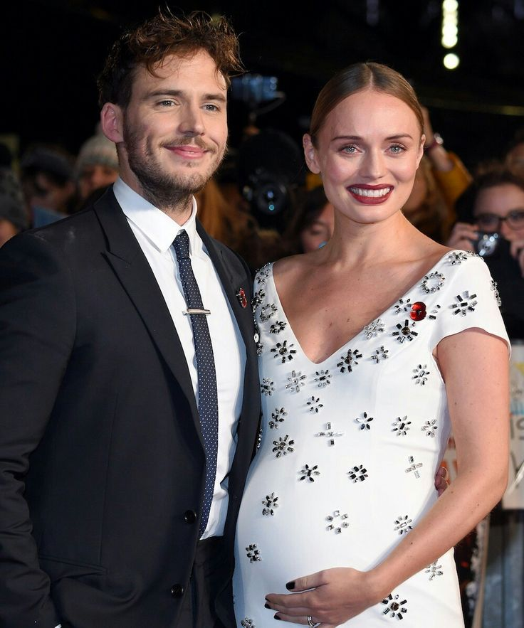 Sam Claflin and wife Laura Haddock