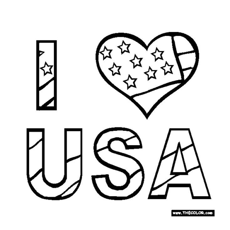 Free, Printable 4th Of July Coloring Pages July Colors, Coloring Pages  For Teenagers, Coloring Pages For Kids