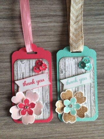 tags Stampin' Up!