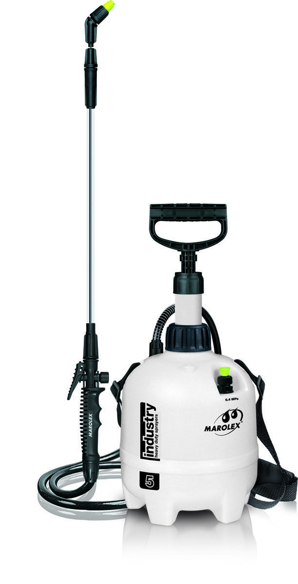 INDUSTRY sprayer is an expert device designated for extremely heavy assignments. It can be used in car wash, oil-rig, factory, garage for technical spraying - the tasks where performance of INDUSTRY proves excellent.  The sprayer is resistant to all kinds of chemicals and detergents applied in industry and in cleaning.  Acid-proof lance, viton seals, together with an extremely durable high-pressure container guarantee that the device withstands strenuous duties leaving user safe.
