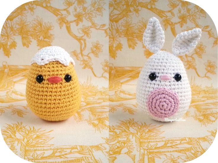 amigurumi de Pâques
