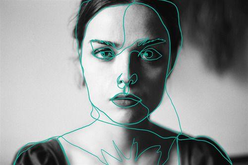 artistic // artwork // drawing // line drawing // aesthetic // colour // art // artist