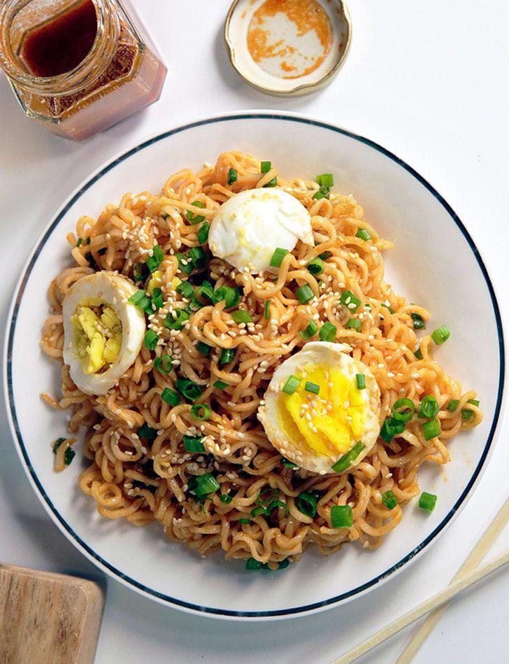 Get the recipe: chilled ramen noodle salad                  Image Source: POPSUGAR Photography