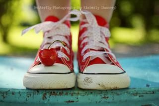 Kid shoes photography