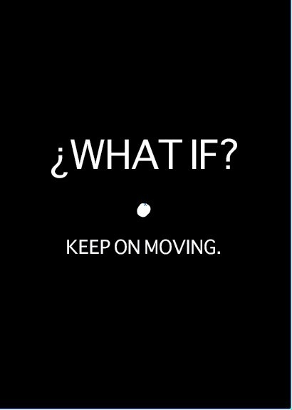 What if? Keep on moving.  #firestrong #bepositive challenge  instagram.com/wifeonfire