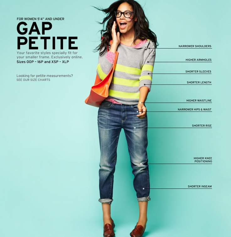 15 best images about petite friendly brands on pinterest for Gap petite t shirts