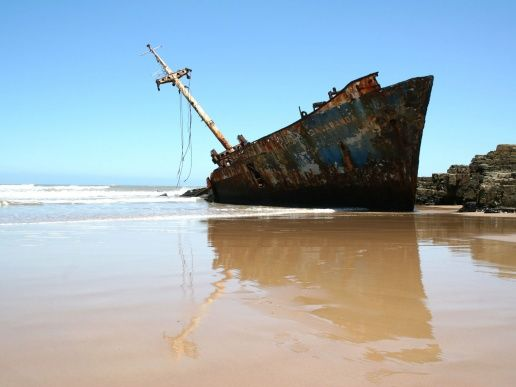 """""""You may be right but look at this place. It's a natural burial ground for everything that is tossed out of the sea. With the shipwrecks in this area there are probably a whole lot of bodies already buried here. After a wind like we had the other evening, and the shifting sand dunes, it could be buried ten metres below the sand."""""""