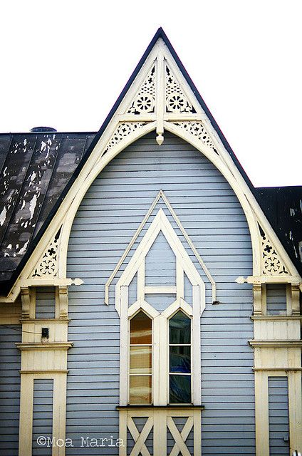 Gothic Revival Victorian Houses by albyfurlong