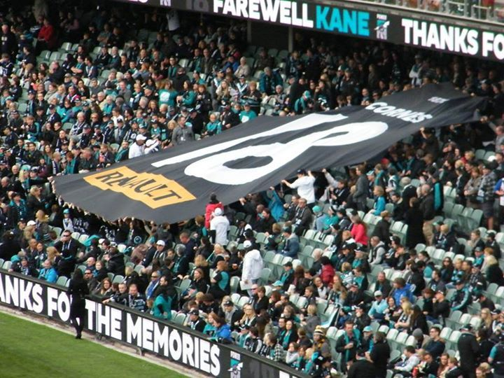 Kane Cornes 300th and final game on the 24th of May, 2015