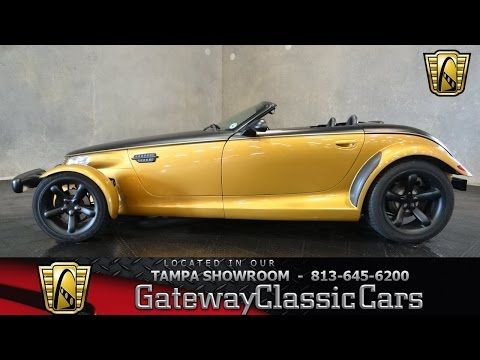 2002 Plymouth Prowler 3.5L V6 SFI SOHC 4 Speed Automatic with Electric OD For Sale | Tampa, Florida | TPA 472