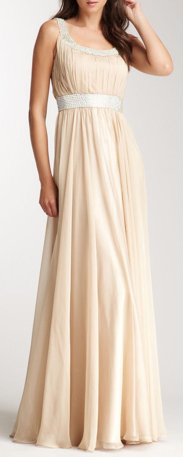 Rhinestone Encrusted Gown
