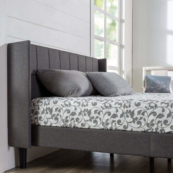 Transform Your Bedroom With This Stylish Platform Bed By Zinus It