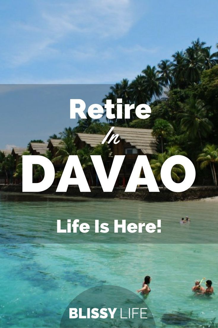 Why retire in Davao, Philippines. LIfe is here! via /blissy_life/