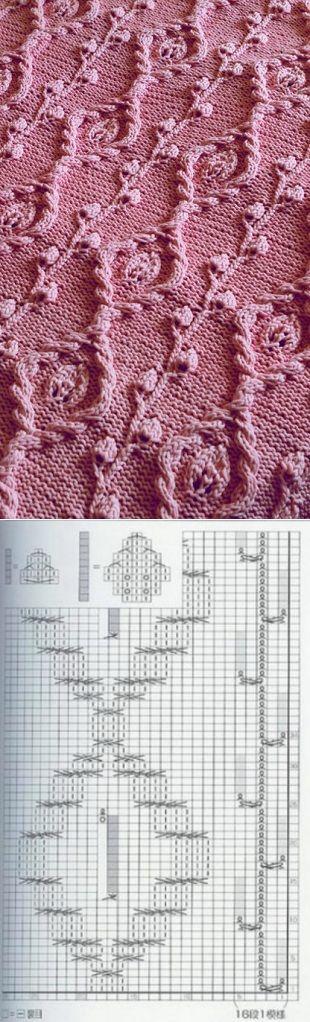 Gorgeous lace chart