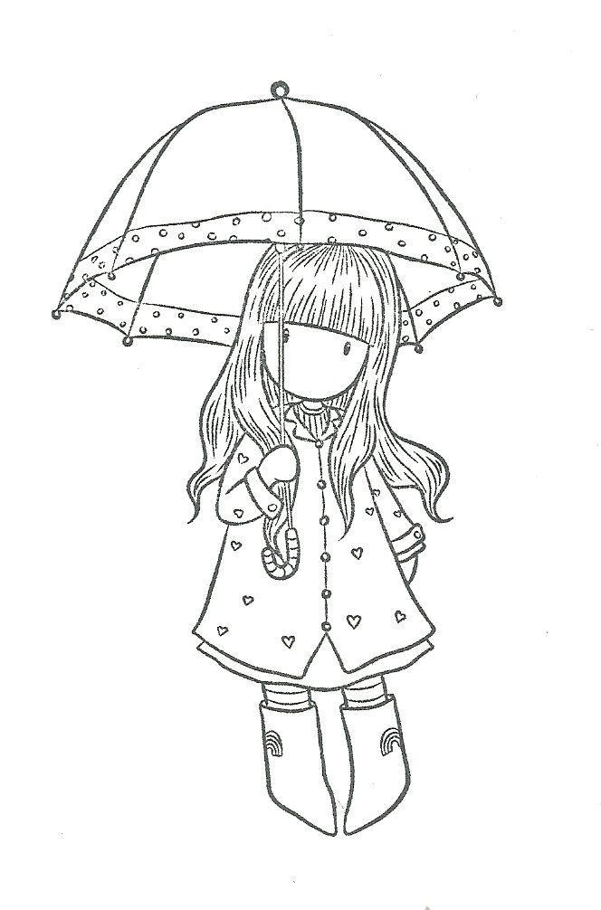 gorjuss parapluie