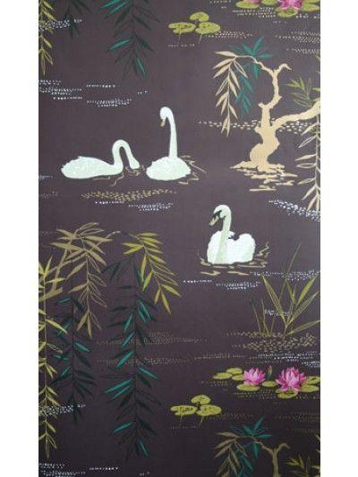 Swan Lake Wallpaper | Nina Campbell Nina Campbell
