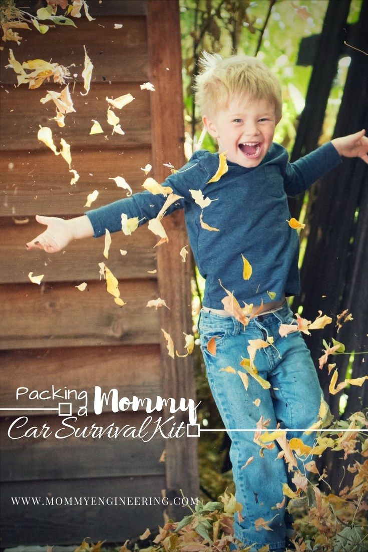 Packing a Mommy's Car Survival Kit