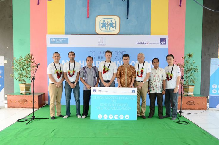 AXA Hearts and Action in Village Banda Aceh