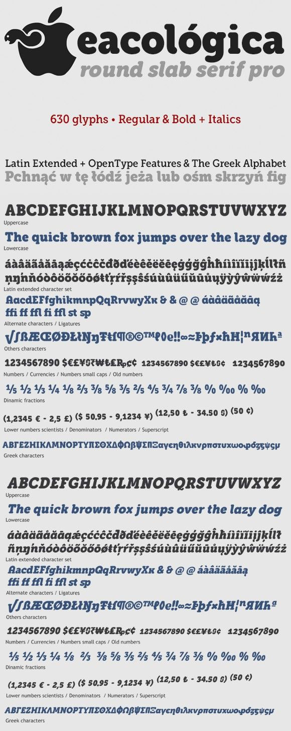 Eacológica round slab serif. Fonts. $54.00