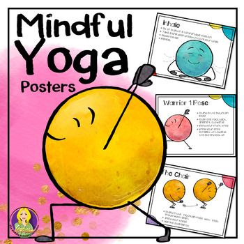 Mindful Yoga Posters are a set of 25 posters-- each one describing a different yoga pose. Perfect for decorating your classroom, but each poster describes a different pose. If you are serious about teaching mindfulness or want a fun, yet calming way to have students take a break, then this poster
