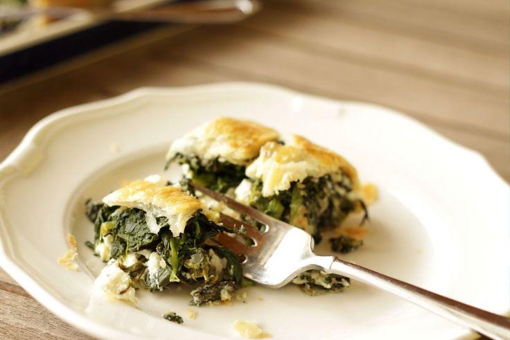 Spinach & Feta Strudel