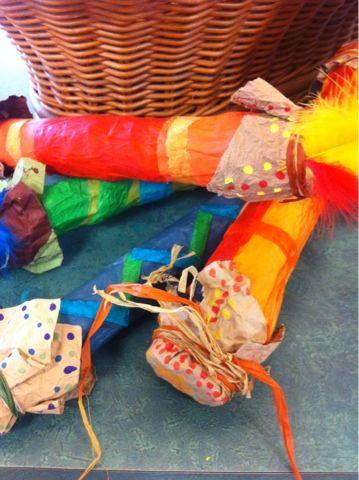 Aboriginal Rain Stick... Love them...Art at Becker Middle School