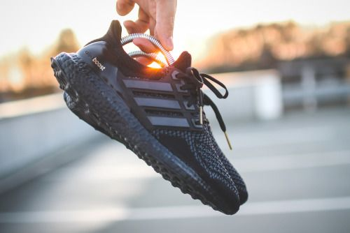 Adidas Boost All Black