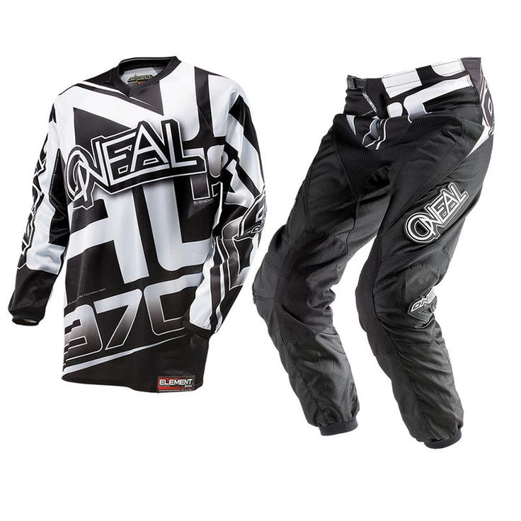 Oneal Element 2014 Racewear Black-White Motocross Kit  Description: The Oneal Element 2014 Racewear Black/White Motocross Kit       is packed with features..              Jersey Specification                      Breathable, moisture-wicking material – Absorbing sweat,         keeping you cool                    Sublimated graphics –...  http://bikesdirect.org.uk/oneal-element-2014-racewear-black-white-motocross-kit-41/