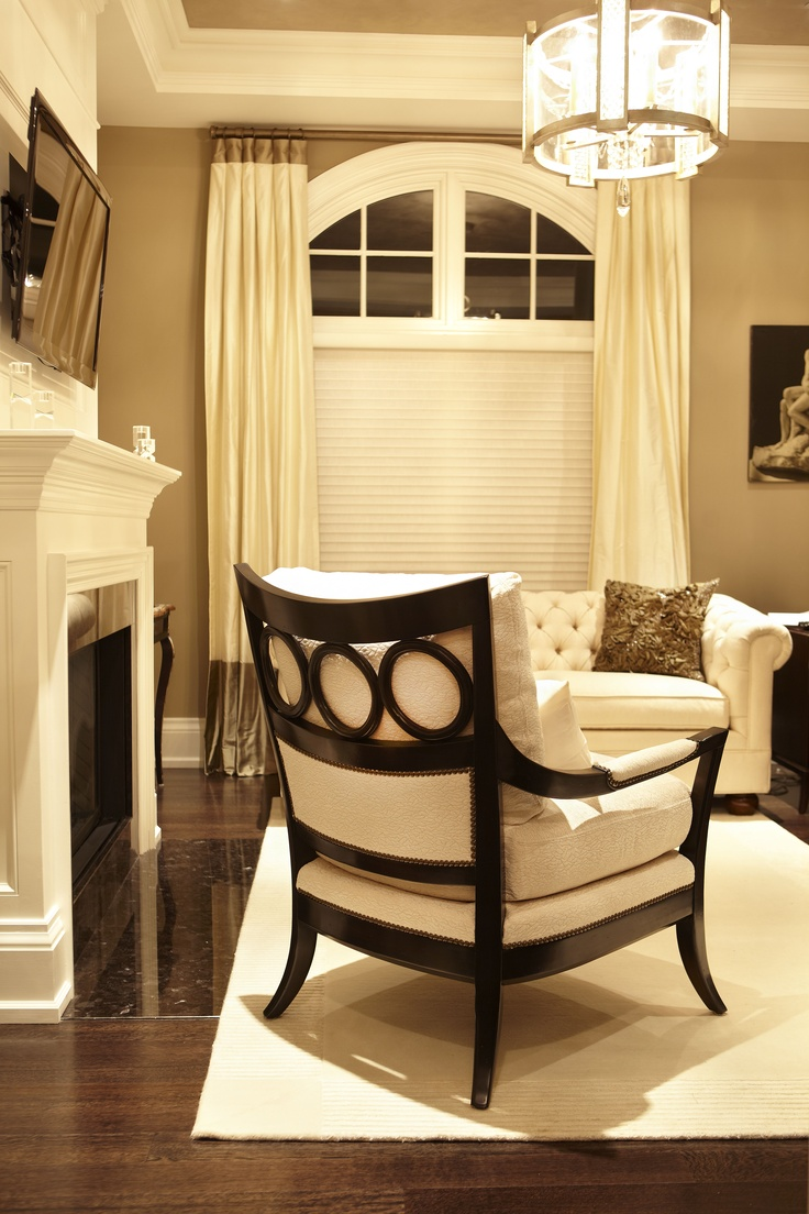 A Transitional Style Living Room By Parkyn Design Entryways Foyers