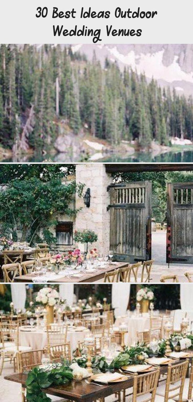 Jan 22, 2020 - 30 Best Ideas Outdoor Wedding Venues ❤️ outdoor wedding venues garden ceremony andrew bayda #weddingforward #wedding #bride
