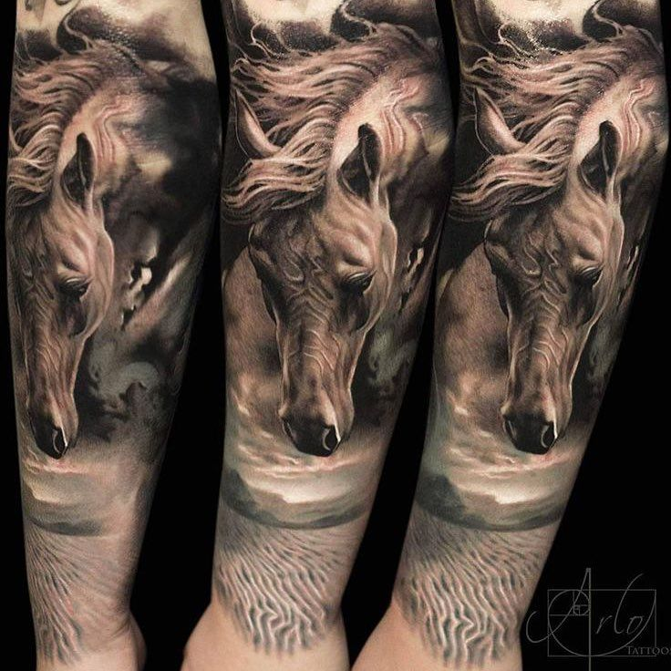 20 Amazing Horse Tattoos, Because They Just Keep Getting Better